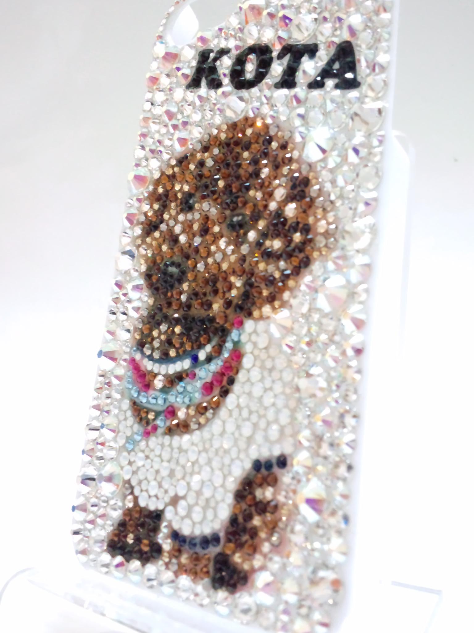Iphone5 ペット 犬 デコ 『kota』 参考価格 ¥30 000 ファストルックス