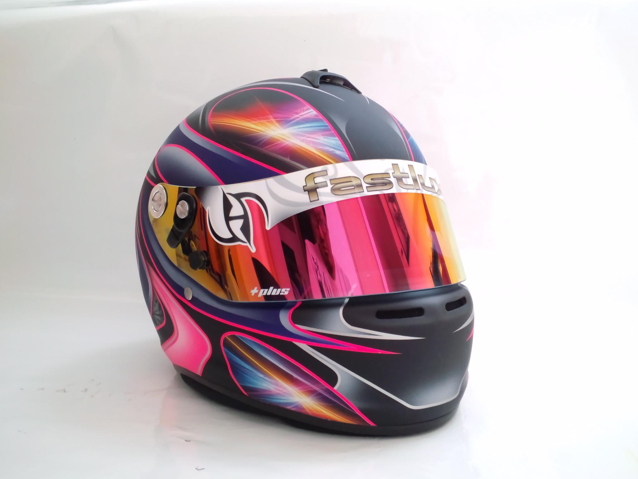 ヘルメット オリジナルペイント Amp デコ 販売用 特別価格¥167 400(税込、送料無料) ファストルックス