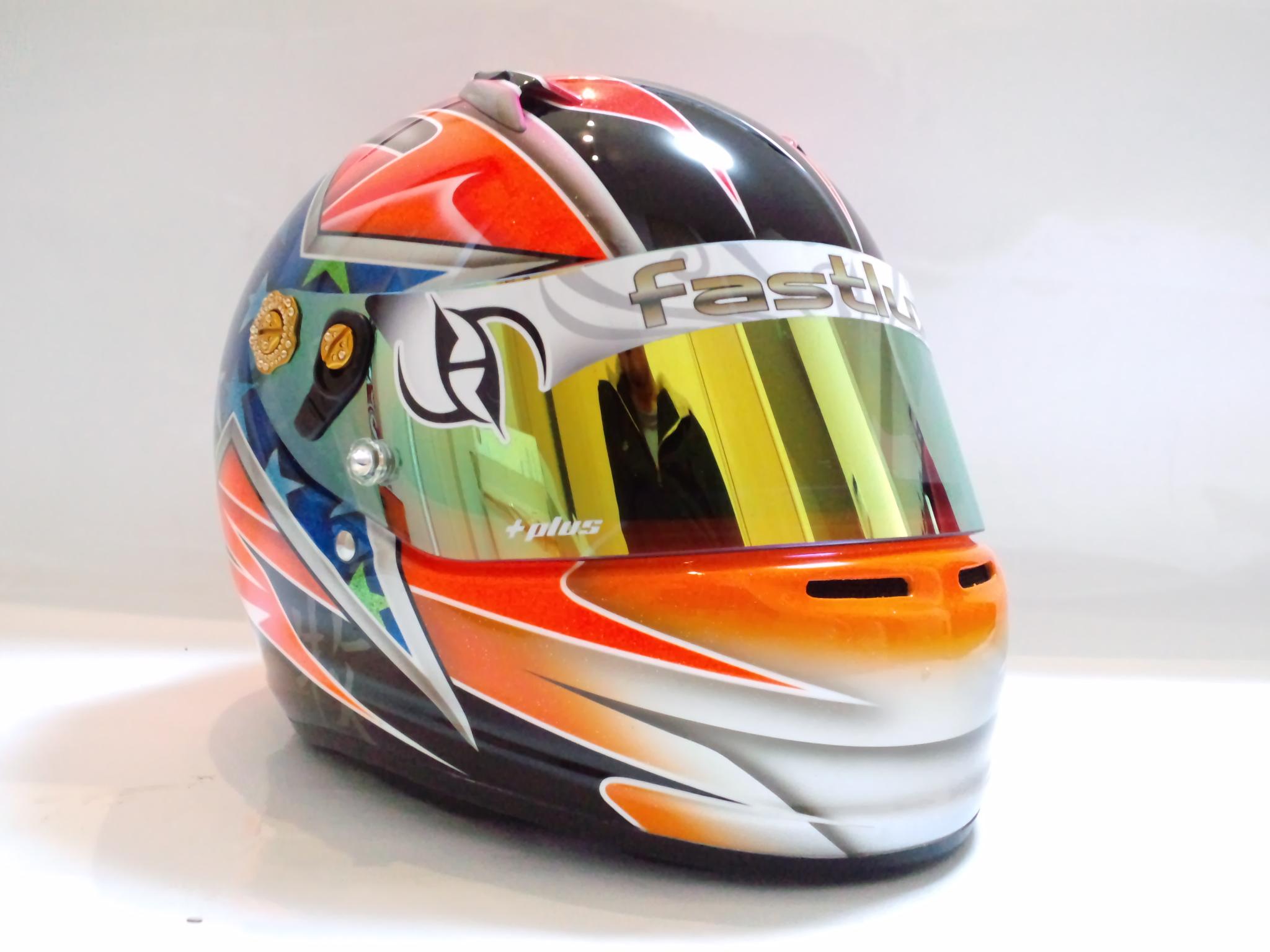 ヘルメット デコ &デザインペイント 45 ファストルックス